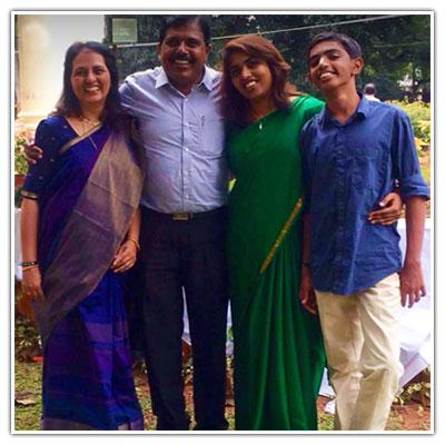 Kumuda Sujay Family