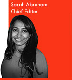 Sarah Abraham: Chief Editor