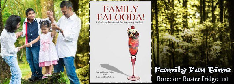 Family Fun Time: Boredom Buster Fridge List