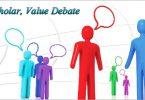 Respect The Scholar, Value Debate